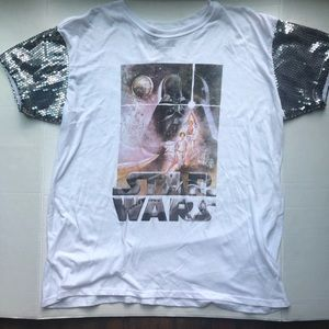 Star Wars | Sequin Tee | Size XXL